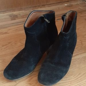 Isabel Marant Suede Dicker Boots  38
